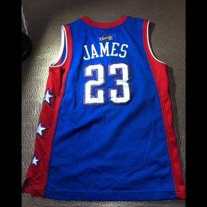 Nike Shirts & Tops - RARE Nike Lebron James All star Cavaliers Jersey